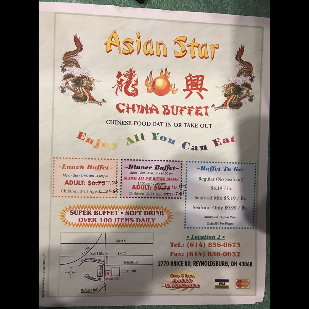 Outstanding Asian Star China Buffet Home Interior And Landscaping Transignezvosmurscom